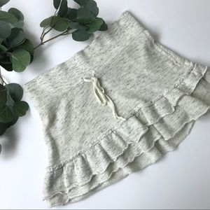 American Eagle Outfitters sweater skirt ruffle S